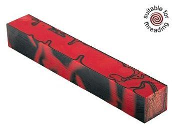 Kirinite Red Devil pen blank